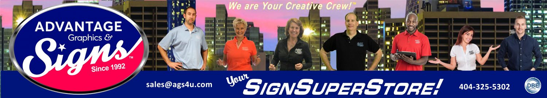 Advantage Graphics & Signs |  Atlanta's #1 Sign Company